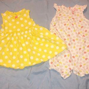 Carters baby girl bundle